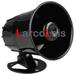$enCountryForm.capitalKeyWord Australia - 12V Black Loud Universal Auto Car Security Alarm Siren Horn Speaker Loudspeaker Vehicle