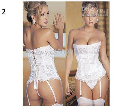 Lingerie corset wedding