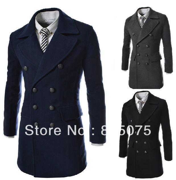 2017 Wholesale Men'S Suit Stand Special Collar Long Suit Blazer ...