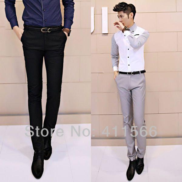 2017 Wholesale Black/Light Gray Korean Style Men'S Newest Design ...