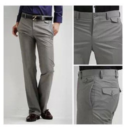 Discount Gray Skinny Dress Pants Men | 2017 Gray Skinny Dress ...