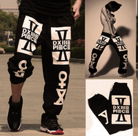 Wholesale Bboy Pants - Wholesale- New fashion arrival ! Popular dimepiece street fashion lovers design hiphop pants hip-hop Street dance harem pants bboy