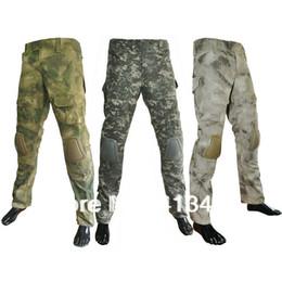 Wholesale G3 Combat Pants - Wholesale-Brand G3 Combat Pants  tactical pants Leisure trousers camouflage pants + Combat Knee Pads