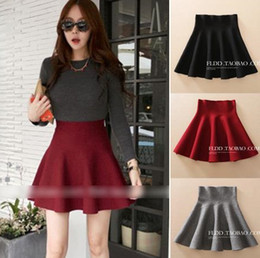 Discount High Waist Short Umbrella Skirt | 2017 High Waist Short ...