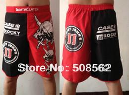 Wholesale Tudo Shorts - Wholesale-Wholesale - --Hot!!! Death Clutch Brock Lesnar Vale Tudo Fight shorts breeches beach shorts