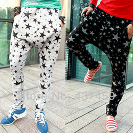 Wholesale Stylish Korean Fashion Mens - Wholesale-Mens Korean Stylish Hip Hop Baggy Harem Pants Fashion Brand Casual Loose Pants Trousers Denim Free Shipping