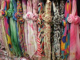 Wholesale Multipurpose Scarves - multipurpose womens SCARF scarves handbag accessorry 50PCS LOT hot