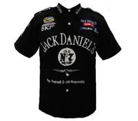 Wholesale F1 Crew Shirt - Wholesale-2015 NEW HOT Pit Crew SHIRT F1 MOTO NASCAR black