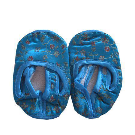 Silk Baby Shoe First Walker Skor Billiga Kina Flower Baby Soft Sole Skor / Mix Color