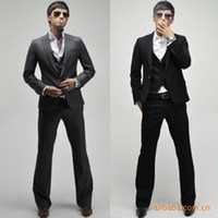 Wholesale Pants Spikes - Wholesale-Price spike ! Suit Wholesale Korean Slim suits men's suits ( suit + pants )