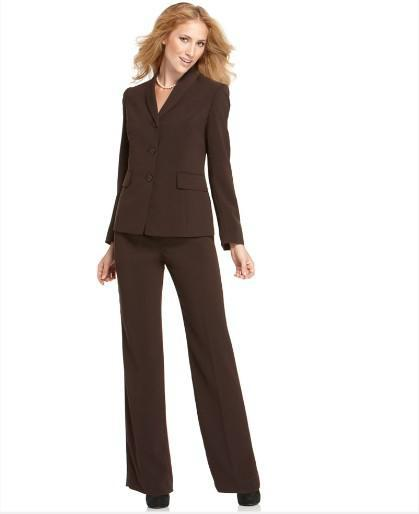 2017 Women'S Suits 2015 Custom Made Suits Brown Womens Suits ...