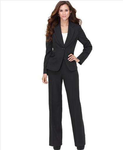 Womens Suit Black | My Dress Tip