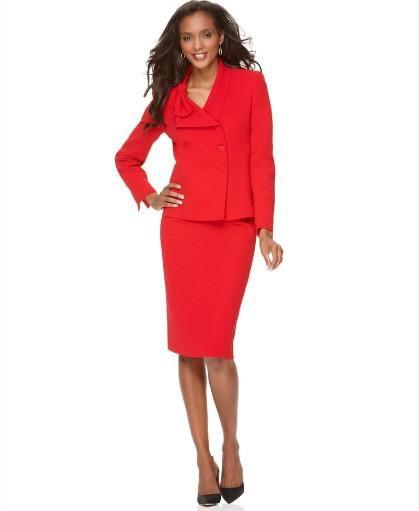 2018 Designer Suits Red Ladies Suits Women'S Clothing ...