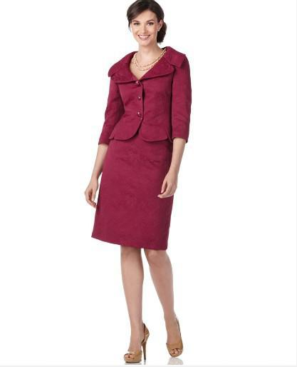 2017 Clothing Store Red Ladies Suits Designer Suits Women In Suits ...