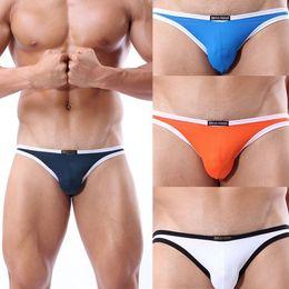 Wholesale Men S Smallest Underwear - Wholesale-free shipping Brave Person Nylon Men sexy Bikini Men Underwear Swimwear breathable soft briefs Men small triangular swimming tr