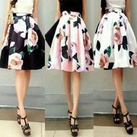 Canada Black High Waisted Flare Skirt Supply, Black High Waisted ...