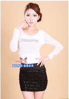 Wholesale Korea Skirt Nylon - Wholesale-Free shipping south Korea package hip skirt elastic step skirt spring and summer