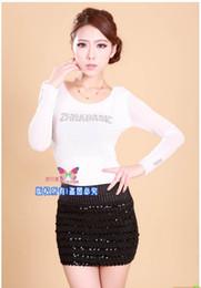 Wholesale Korea Skirt Nylon - Wholesale-Free shipping south Korea package hip skirt elastic step skirt spring and summer