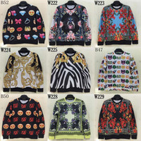 Wholesale Tracksuit Women Flowers - Wholesale-2015 fashion Men women Medusa 3d sweatshirt women personality print golden flowers 3d hoodies sport tracksuits jacket top
