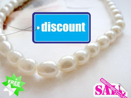 9-10mm 18INCH white Pearl necklace