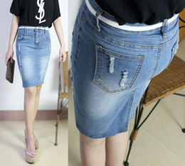 Canada Woman Long Denim Skirt Supply, Woman Long Denim Skirt ...