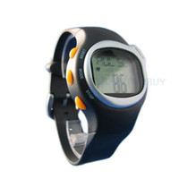 Wholesale Pedometers Calories Burned - Calorie Burned Heart Rate Pulse Sport Watch Wrist watch 100pcs lot Free shipping