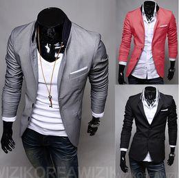 Wholesale Modern Suits For Men - Wholesale-Male Sequin Blazer Mens Gentleman Velvet Blazers Masculino Casual Wedding 2015 Modern Fit Suit Top Fashion Suits For Men AX151