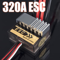 Wholesale Buggy Himoto Rc Car - Wholesale-10pcs 320A Speed Controller ESC For RC Car  boart 1 8 1 10 Truck Buggy FOR HSP 1 10 Exceed AMAX HIMOTO VTO