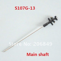 Wholesale Spare Parts Planes Helicopters - Wholesale-20pcs Free shipping S107G-13 Main shaft spare parts for 22cm S107G SYMA 3ch Gyro R C Mini Helicopter RC plane S107