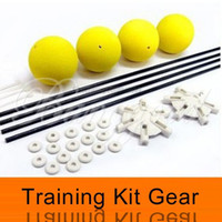 Wholesale Training Kit For Rc Helicopters - Wholesale-Free Shipping Wholesale Landing Training Kit Gear for Blade 400 Trex 450 500 RC Helicopter Sponge Balls