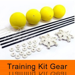 Wholesale Training Kit For Rc - Wholesale-Free Shipping Wholesale Landing Training Kit Gear for Blade 400 Trex 450 500 RC Helicopter Sponge Balls