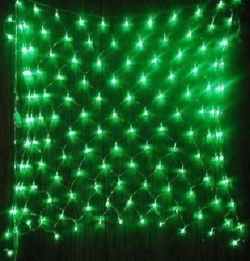 see larger image - Led Net Christmas Lights
