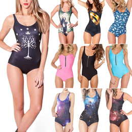Wholesale Middle Earth - Wholesale-Black Milk Middle Earth Swimsuits 2015 One Piece Swimsuits The Lord of the Rings Swimwear for Women S M L XL Plus Size