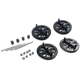 Wholesale Ar Drone Gears - Wholesale-free shipping Parrot AR Drone 2.0 & 1.0 Quadcopter Spare Parts Motor Gears & Shafts Black
