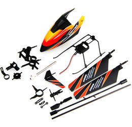Wholesale V911 Helicopter Set - Wholesale-WLtoys WL V911 2.4Ghz 4Ch RC Helicopter Spare Parts Accessories Set V911-0001