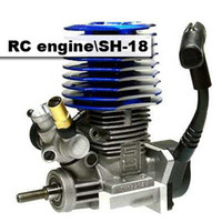 Wholesale RC SH RC Nitro Side Engine for Car Buggy Truck Remote Parts Black amp Blue