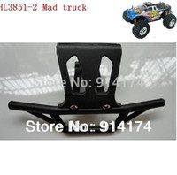 Wholesale Henglong Mad Truck - Wholesale-HengLong HL3851-2 1:10 RC Mad Truck parts No 71 Front Bumper free shipping