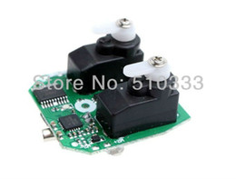 Wholesale Rc Helicopter V911 Parts - Wholesale-5 pcs lot 2.4G Electric Receiver Board Spare Part for WLTOYS V911 4CH 2.4GHz RC Helicopter free shipping