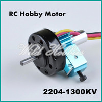 Wholesale Rc Airplane Brushless Outrunner Motor - Wholesale-Free Shipping RC Airplane Hobby Brushless Outrunner 2710p-1300KV Motor 2204 1300KV