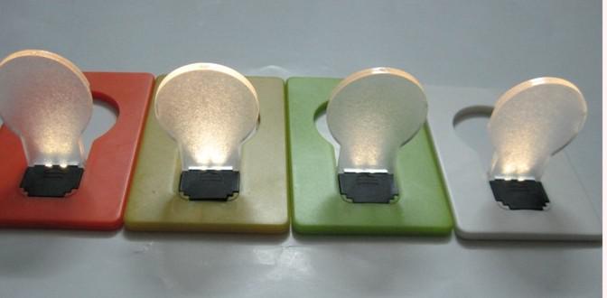 Doulex LED light Card lamp la mayoría de las pequeñas luces creativas