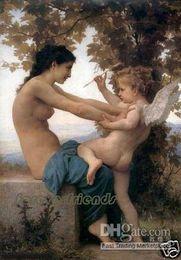 angel desnudo con madre arte pintura al óleo sobre lienzo 366 desde fabricantes
