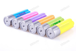 Wholesale 24 Lip Balm - Wholesale-bestPrice New Fashion Lip Balm Special Care Super Lovely Colour Pen Gift For Kids[Blue] [24 hours dispatch]