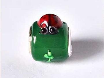 Tierform Glas großes Loch Perlen für Pan Schmuck gemischt europäischen Perlen Kostenloser Versand