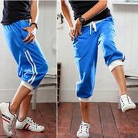 Wholesale Mens Workout Capris - Buy Cheap Mens Workout Capris from ...