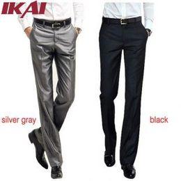 Wholesale Formal Styles Suits Blazers - Wholesale-TX239-2 Men Pants Mens Suit Solid Trousers Brand Business Men's Pant Western Style Blazer Formal Men Wedding Party Dresses