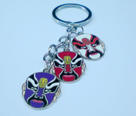 Craft Gift Keychain Key Chain Key Ring High quality Chinese Style mix styles 100pcs/lot Free