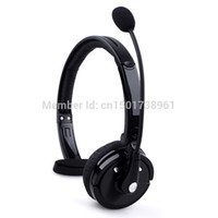 Wholesale over head bluetooth - Wholesale-Wireless Bluetooth Handsfree Boom Mic Headset Headphone Over The Head For Trucker
