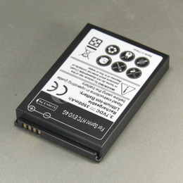 Wholesale Evo 4g Battery - 3500mAh Extended Battery And Back Cover Door Case For HTC EVO 4G 50pcs Per Lot