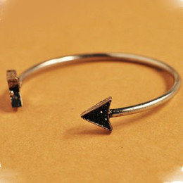 Wholesale Order Arrow - Wholesale-483#Min.order is $10 (mix order), The European and American style, retro arrow bracelet.