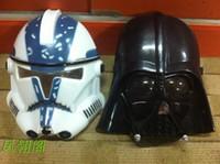Wholesale Darth Warrior - Wholesale-Party& Halloween mask helmet Star Wars Clone Trooper white soldiers Empire warrior Darth Vader mask COS mask helmet of